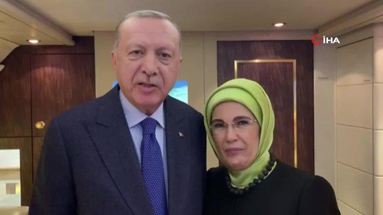 Başkan Erdoğan Kardemir İmam Hatip Lisesi öğrencilerine görüntülü mesaj