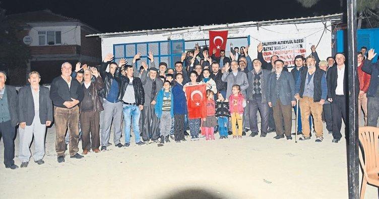 Süt üreticilerinden Mehmetçiğe bağış