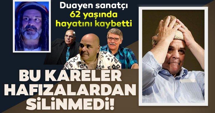 Duayen oyuncu Rasim Öztekin hayatını kaybetti! İşte Fotoğraflarla Rasim Öztekin…