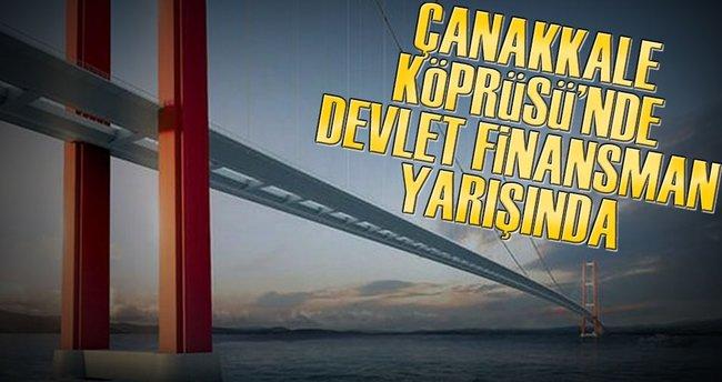 Çanakkale Köprüsü'nde devler finansman yarışında
