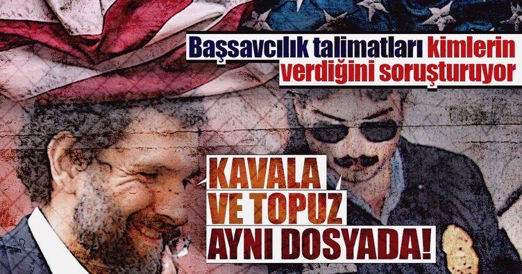 Osman Kavala ve Metin Topuz aynı dosyada