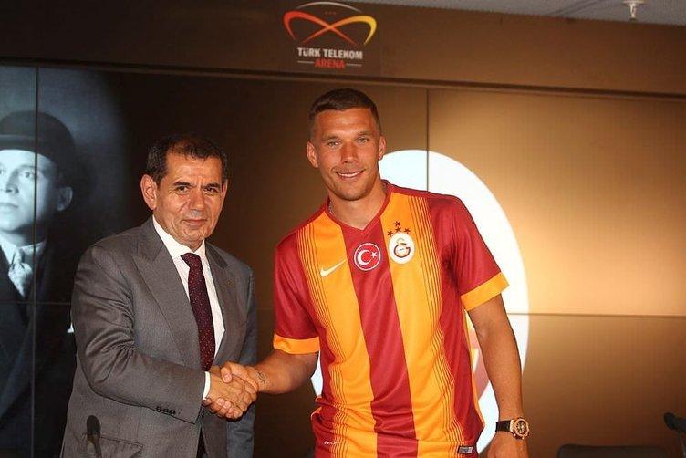 Dursun Özbek'ten Podolski açıklaması