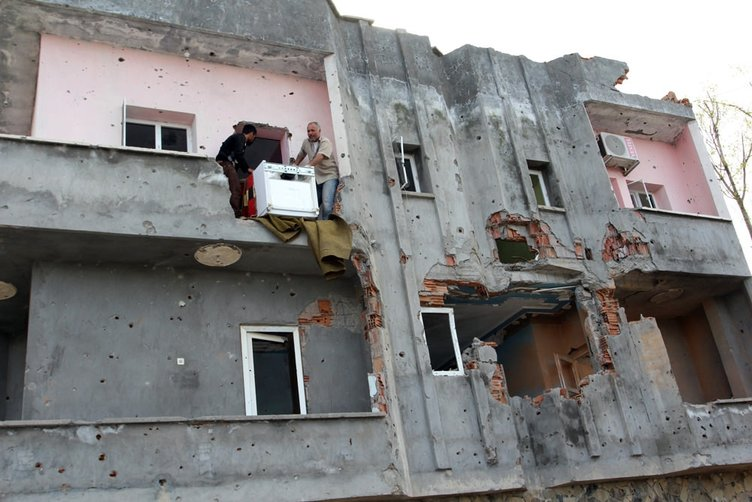 Şırnak İdil'de hasar tespit çalışmaları yapılıyor!