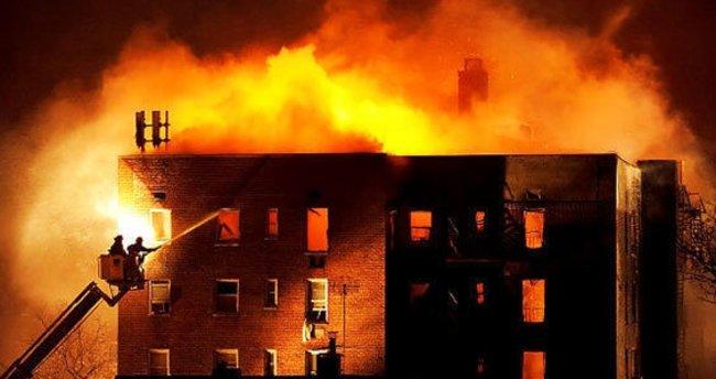 Kapatılan FETÖ yurdunda şüpheli yangın