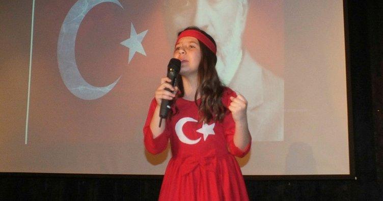 """Malazgirt'te """"İstiklal Marşı'nı Güzel Okuma"""" yarışması"""