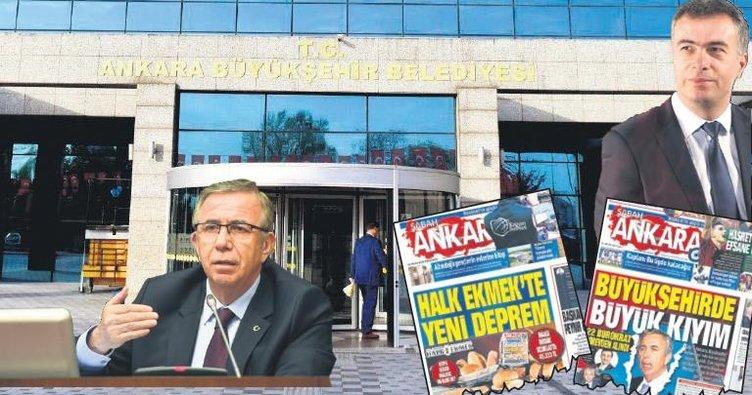 Ankara'da istifalar bitmek bilmiyor