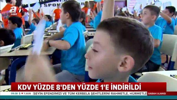 Özel okullara KDV indirimi! Resmi Gazete'de özel okul KDV oranı düzenlemesi yayınlandı | Video