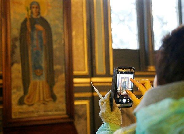 Demir Kiliseye ziyaretçi ilgisi
