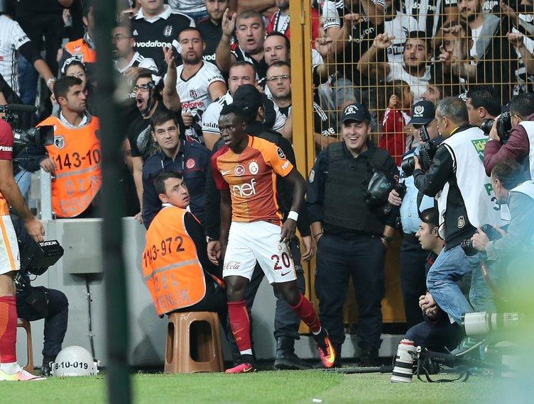 Beşiktaş Galatasaray derbisinden kareler