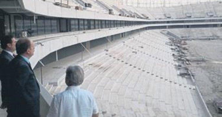 Baykan, Yeni Adana Stadı'nı inceledi
