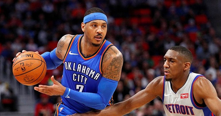 Carmelo Anthony, Houston Rockets'ta