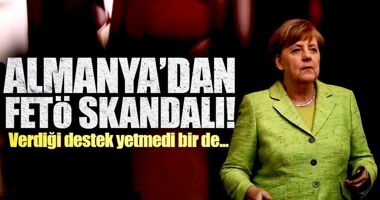 Almanya'dan FETÖ skandalı! Verdiği destekler yetmedi, bir de....