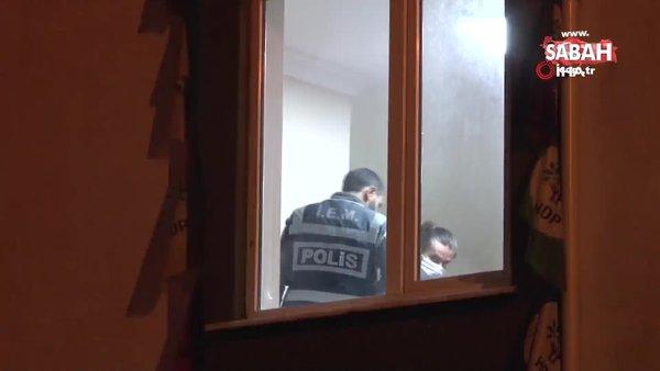 Esenyurt HDP ilçe binasına yapılan operasyon 6 saatlik arama sonrası sona erdi | Video