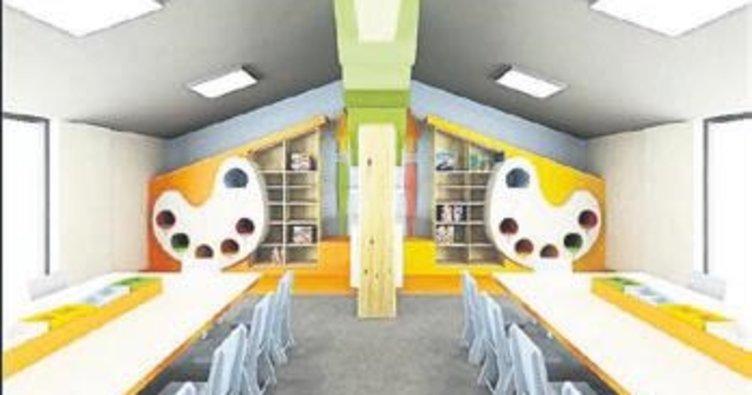 Antalya'da yeni anaokulu açıldı