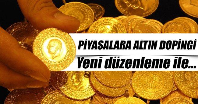 Finansa altın doping