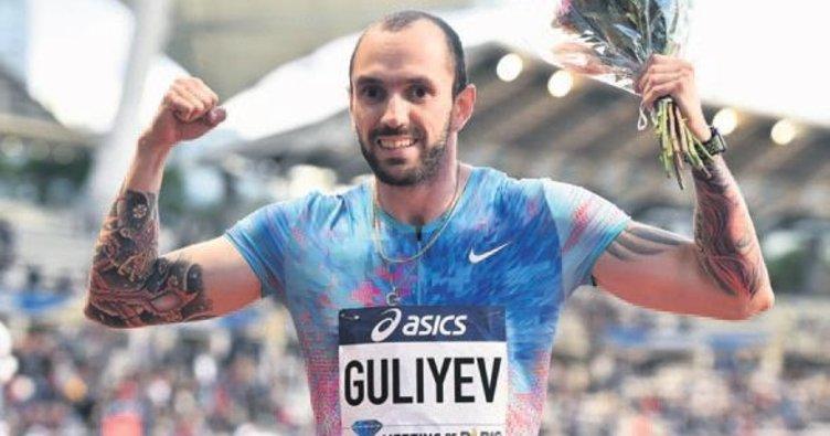 Ramil Guliyev'den 100 metrede tarihi derece