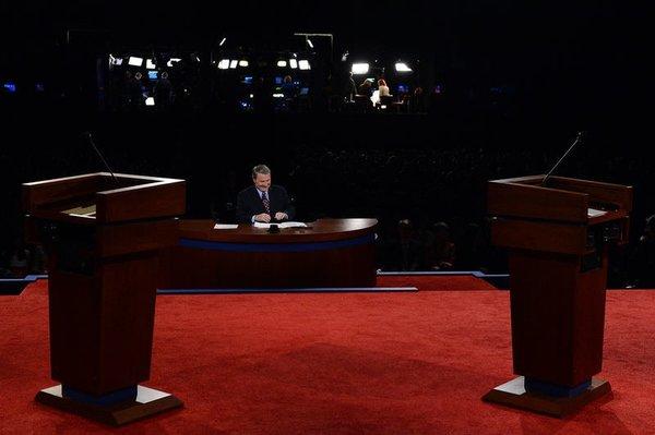 Obama, Romney kozlarını paylaştı