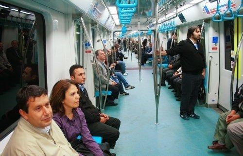 İlk gününde Marmaray
