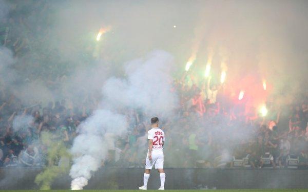 Sakaryaspor - Fatih Karagümrük maçından çarpıcı kareler