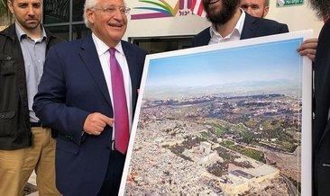 Kudüs'ten 'skandal' fotoğrafa tepki!