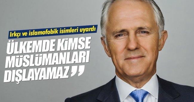 Avustralya Başbakanı'ndan İslam karşıtı söyleme tepki