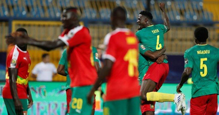 Kamerun, Gine Bissau'yu 2 golle geçti
