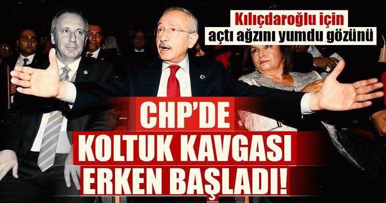 CHP'de koltuk kavgası erken başladı!