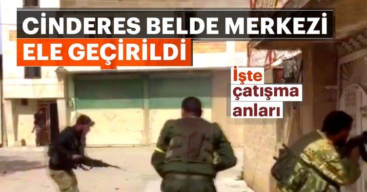 Son dakika: TSK ve ÖSO, Afrin'in Cinderes belde merkezini ele geçirdi