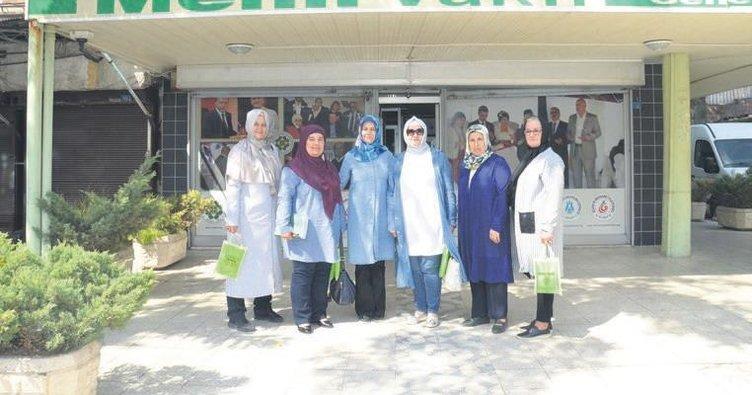 Kadın Meclisi Mehir Vakfı'nı ziyaret etti