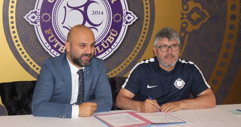 Osmanlıspor'da Mustafa Reşit Akçay imzayı attı