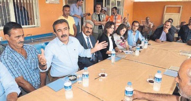 Şambayatlılar asfaltla tanıştı