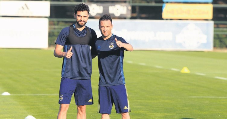 Valbuena ve Mehmet Ekici geldi