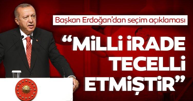 Son dakika haberi: Başkan Erdoğan'dan İBB seçim sonuçları ile ilgili flaş açıklama!