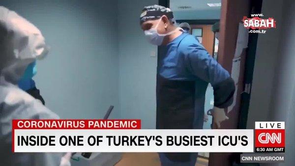 CNN'den Türkiye'deki koronavirüs mücadelesine övgü   Video