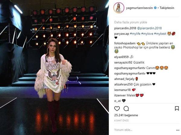 Ünlülerin Instagram paylaşımları (31.03.2018)