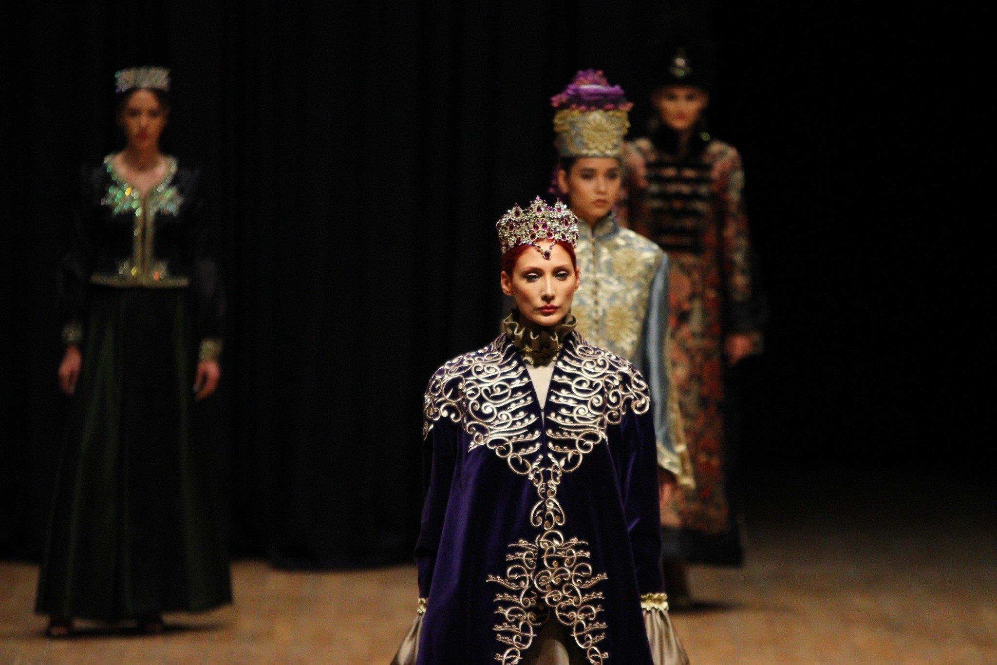 Geleneksel Türk Gelinlikleri Büyüledi Galeri Yaşam 30 Nisan