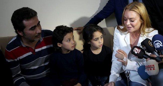 Lohan'dan Suriyeli aileye ikinci ziyaret
