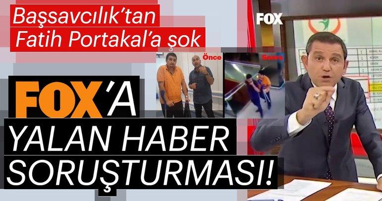 Son dakika haber: Başsavcılık'tan Fatih Portakal'a şok