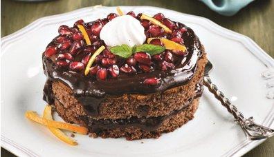 Kestaneli Çikolatalı Pastacık