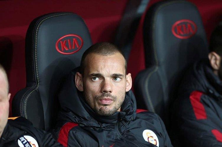 Sneijder ile ipler koptu!