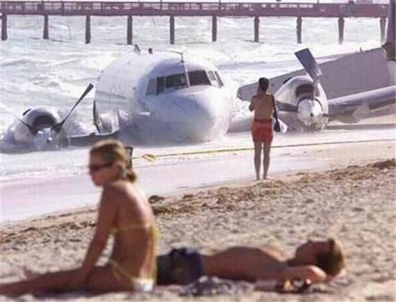 En acayip plaj fotoğrafları