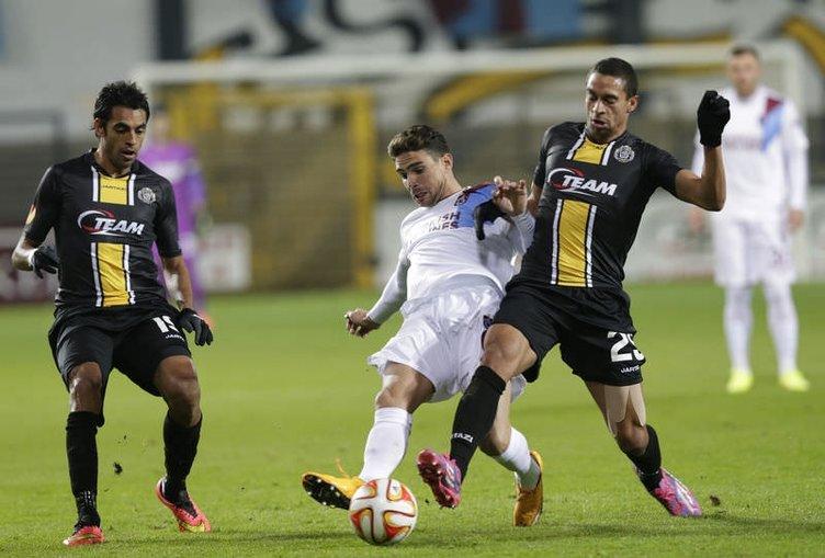 Lokeren - Trabzonspor maçının fotoğrafları
