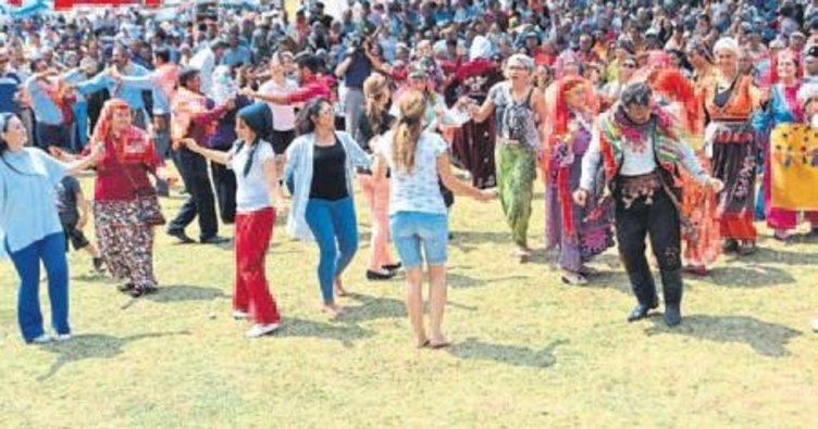 Buldan'da Yörük şenliği coşkusu