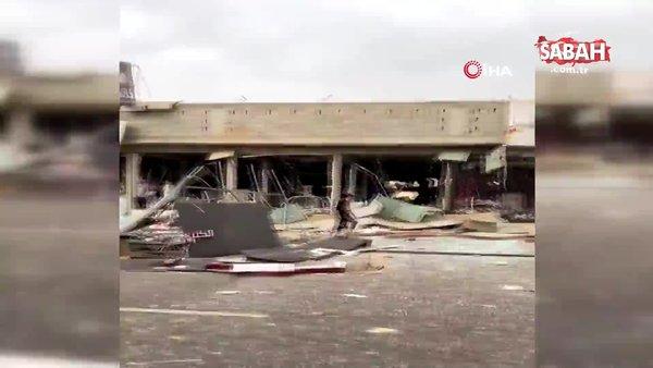 Suudi Arabistan'da restoranda patlama: 1 ölü | Video