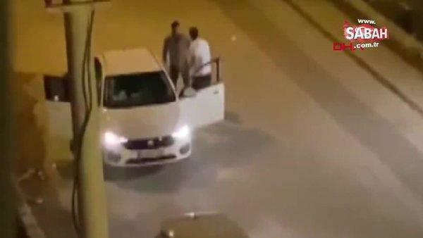 Antalya'da kadın şiddet dehşeti! Sokak ortasındaki tekmeli saldırı kamerada | Video