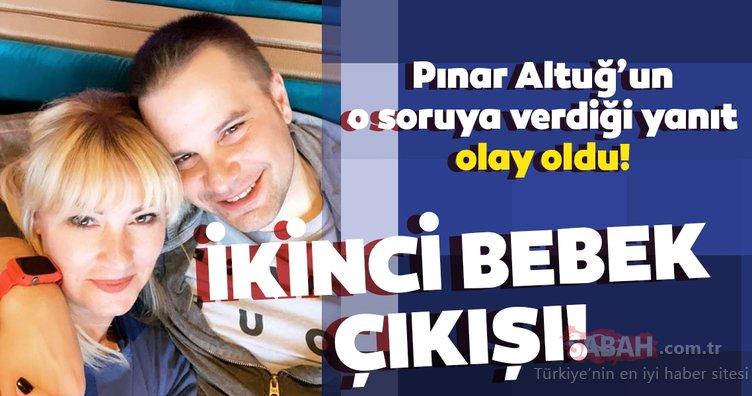 Pınar Altuğ'dan ikinci bebek cevabı! 'Kızınız size hiç benzemiyor' yorumuna Pınar Altuğ'dan olay yanıt!