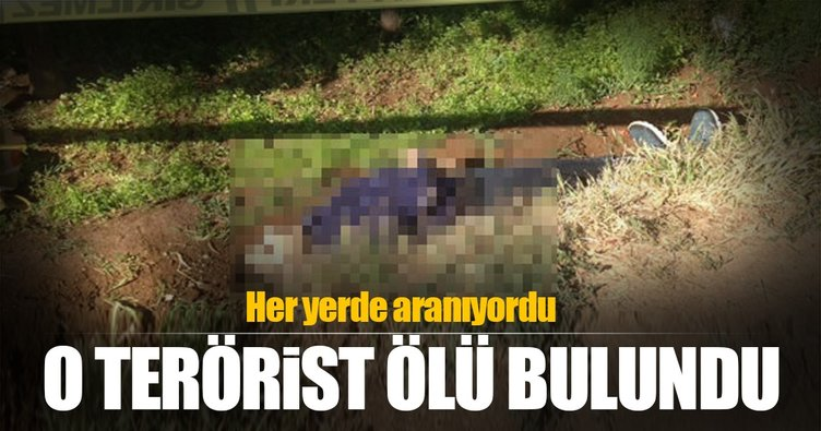 Polis ekiplerine saldıran terörist ölü bulundu