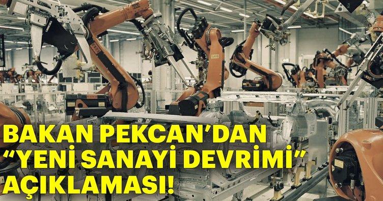 Bakan Pekcan: Türkiye, politikalarını 'Yeni Sanayi Devrimi'ne göre değiştirmeyi hedefliyor