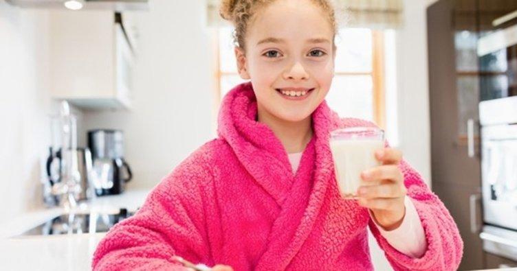Beslenme çantasına süt koymayı unutmayın