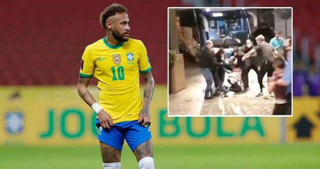 Neymar'a büyük şok! Taraftarlar saldırdı neye uğradığını şaşırdı